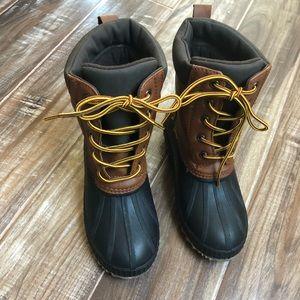 NWOT Gap kids Duck rain boots size 1/2